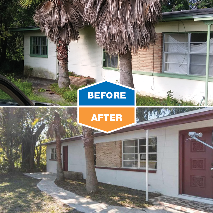 before and after - waldo road house