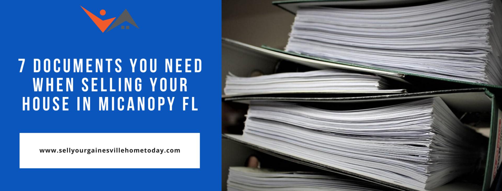 We buy properties in Micanopy FL