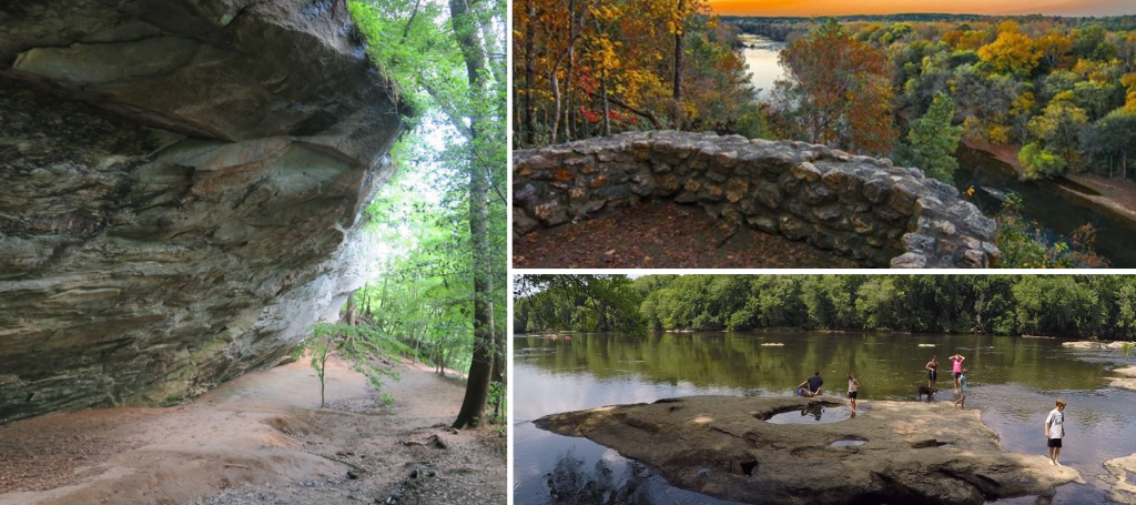 10 things to do in lillington, nc, raven rock state park, hiking trails, water fall