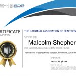 Resort and Second-Home Property Specialist Certification Malcolm Shepherd