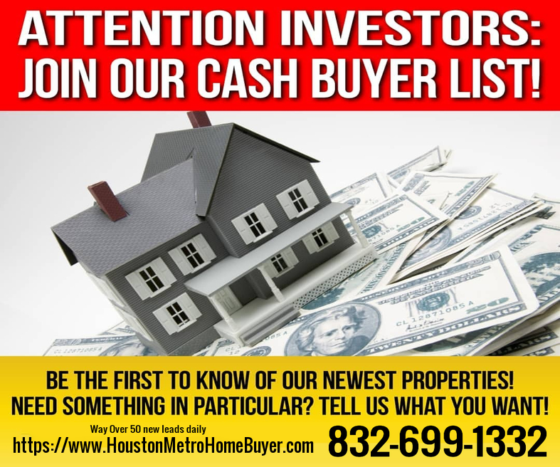Texas Investment Properties Buyer List