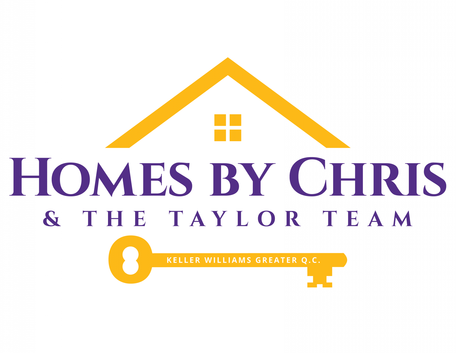 Homes By Chris + The Taylor Team logo