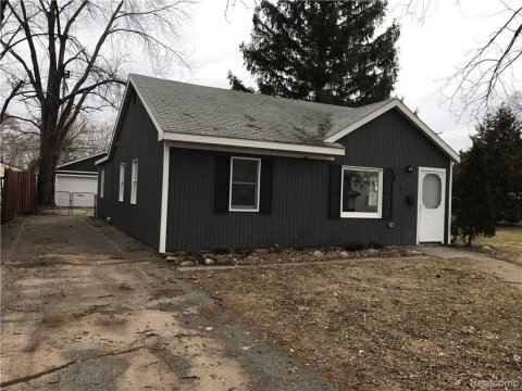 Ranch Home For Sale In Madison Heights Mi