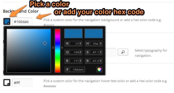 Change Nav bar color