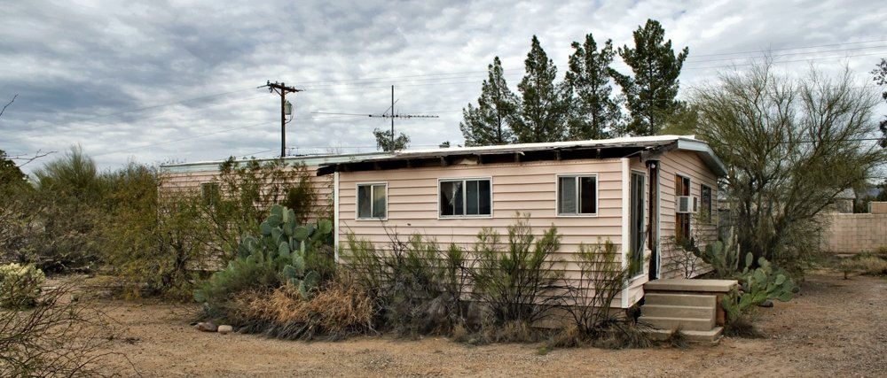Selling A Trashed Out Junk Mobile Home Property In Tucson