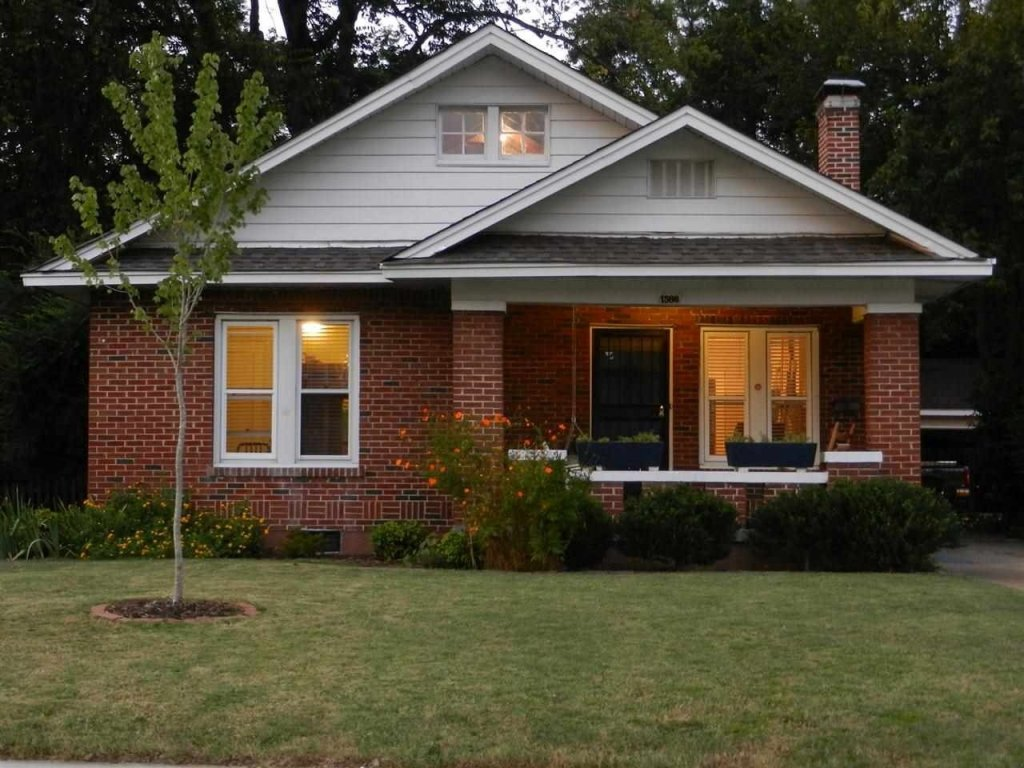 901 Investments Picture of Inherited Memphis House in a twilight setting and how to deal with inheriting a house