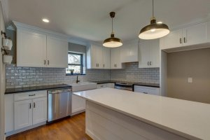 Remodeled kitchen by We Buy Houses Fast in Dallas