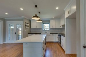 house purchased with cash remodeled