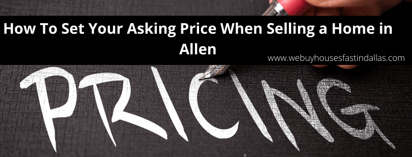how to sell a house in Allen TX
