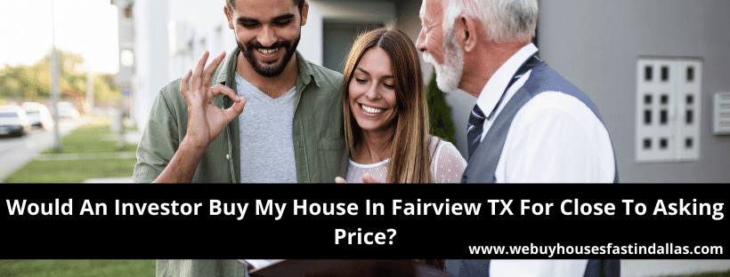 selling a house to an investor in Fairview TX
