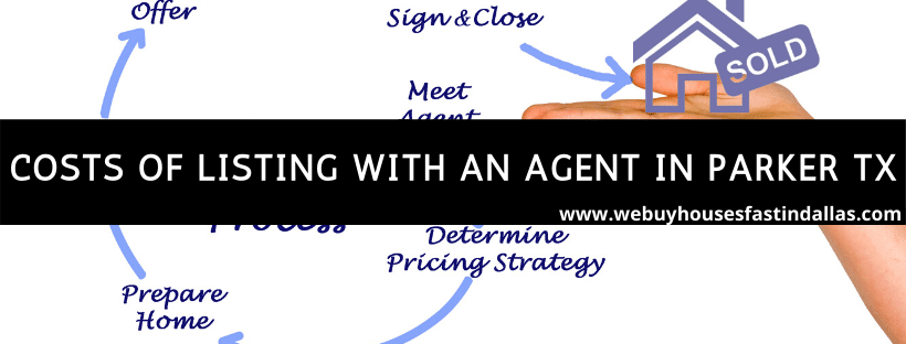 costs of listing with an agent in parker
