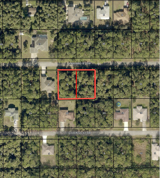 Palm Bay Land For Sale With Owner Financing