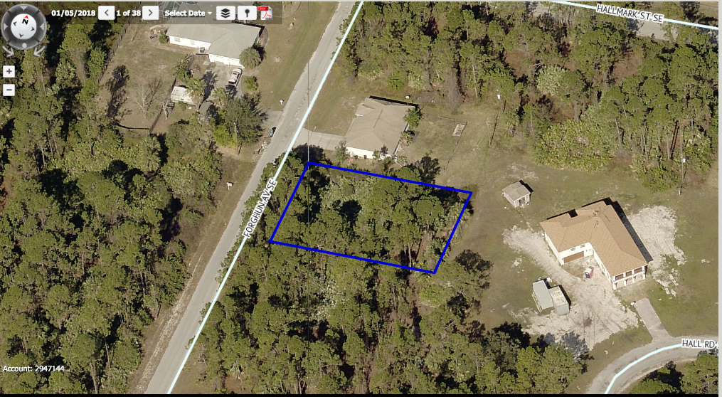 Palm Bay Building Lot For Sale With Owner Financing