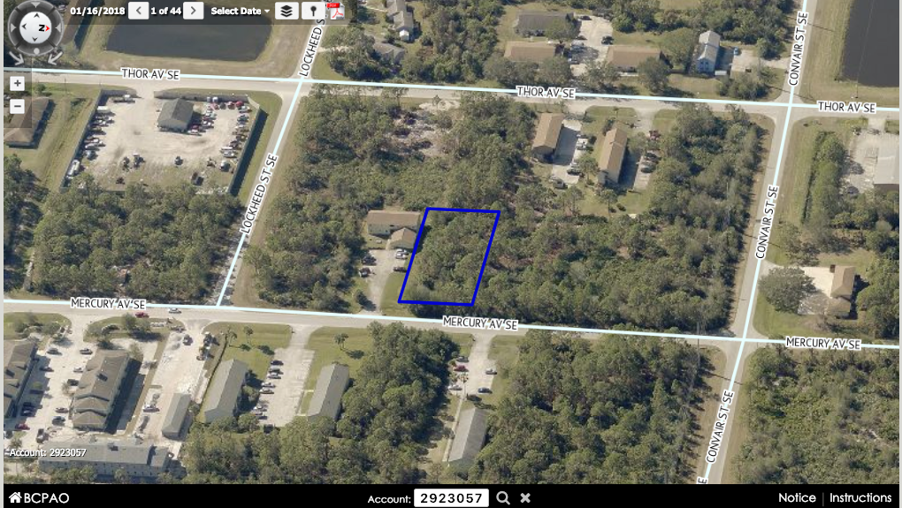 Multi-Family Building Lot For Sale In Palm Bay FL 5