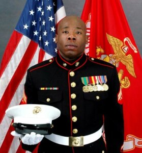 Josue Velney US Marine