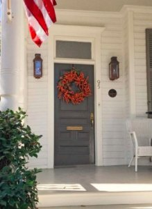 The front door is the focal point of your house.