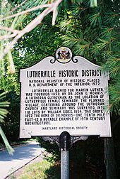 Lutherville MD Homes For Sale