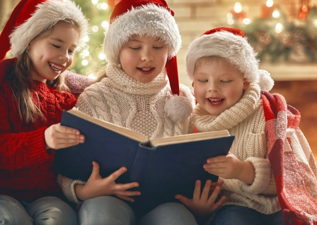 Children's Christmas Story time with a writer