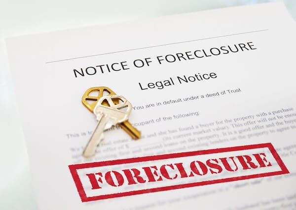 a notice of foreclosure in houston texas