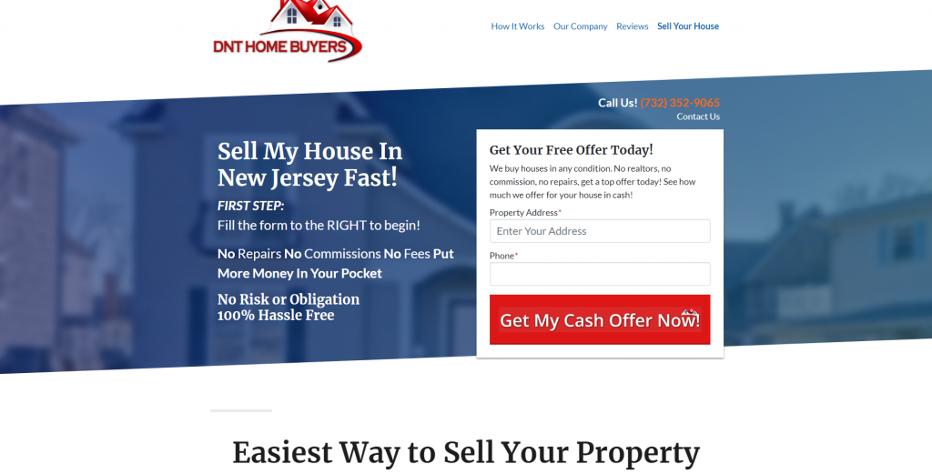 Sell Your Home Cash NJ