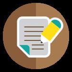 write article icon