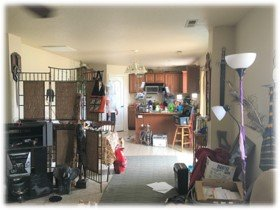 Inside of a house bought by Gem State Cash Offer