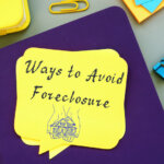 Ways To Avoid Foreclosure with sign on the sheet