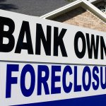 Foreclosure Yard Sign.