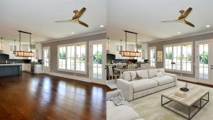 Staging property in Tucson
