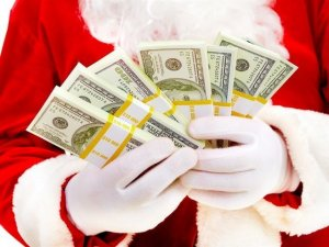 Santa got cash for you