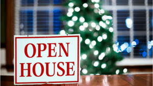Creative Holiday Themed Open House