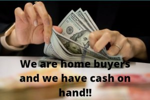 We are home buyers and we have cash on hand