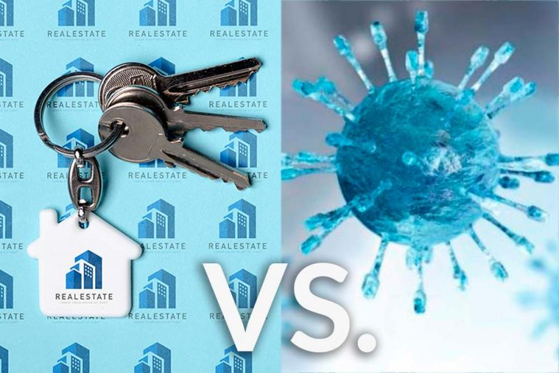 Real Estate Vs. Covid 19