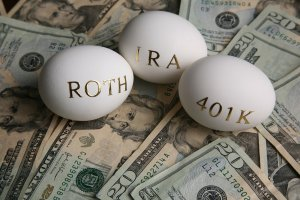 401k and Roth IRA