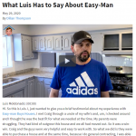 What Luis has to say about Easy-Man