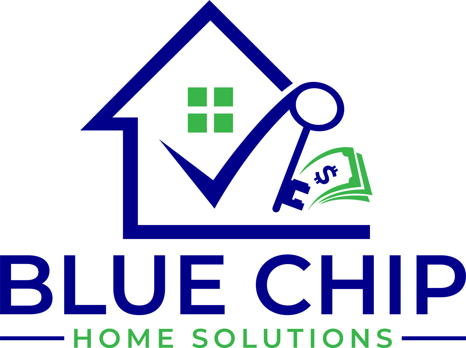 Blue Chip Home Solutions  logo