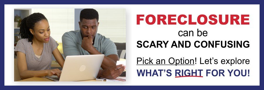 Houston Direct Home Buyers Foreclosure Scary and Confusing Pick and Option