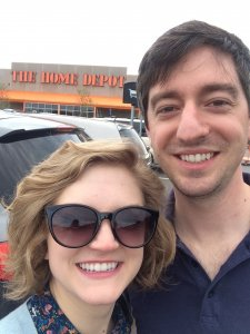 A regular event - Andy and Sandy at Home Depot