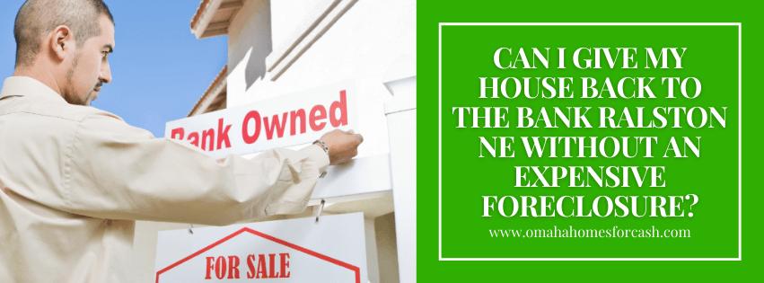 we buy properties in Ralston NE