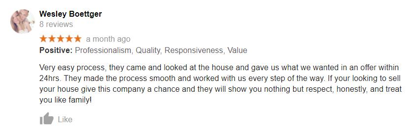Omaha homes for cash reviews