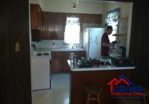 Omaha House Flippers Kitchen Before