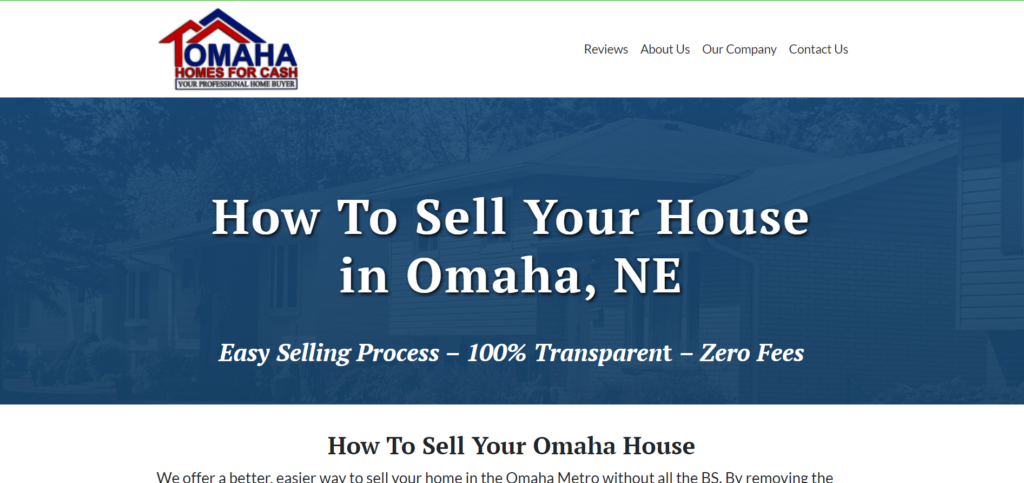 how to sell your house in omaha, ne