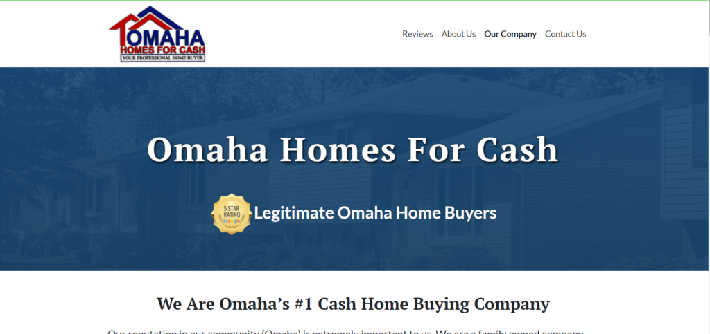 omaha homes for cash buys houses