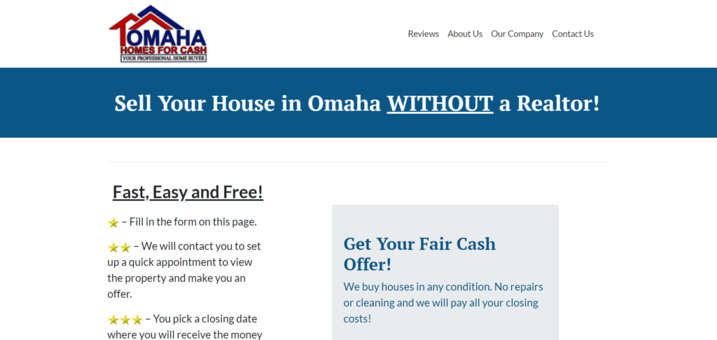 sell your house without a realtor omaha