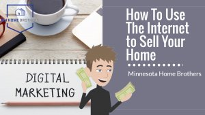 using the internet to sell your house