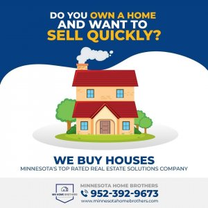We buy houses picture