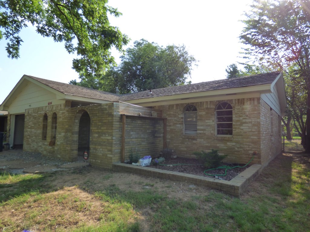Midwest City House Before