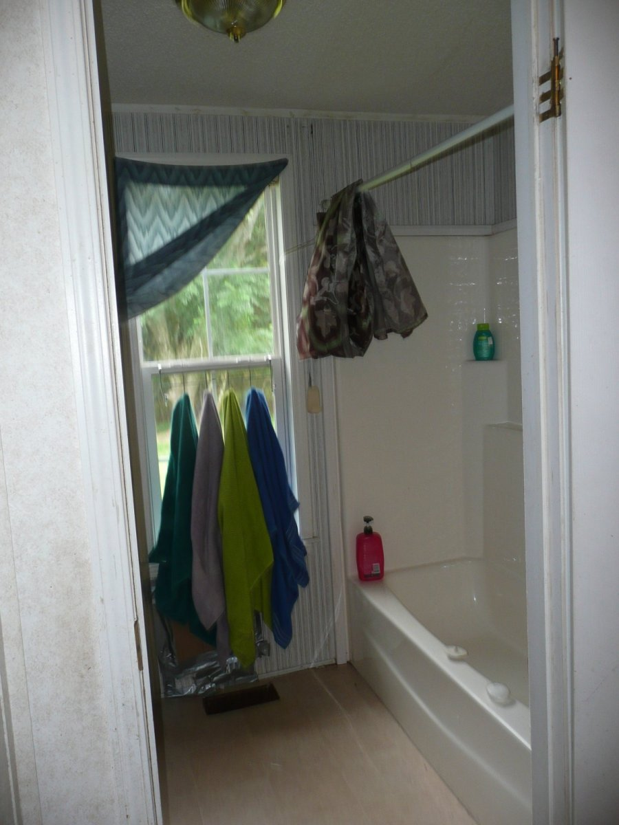 Second Bathroom view of shower