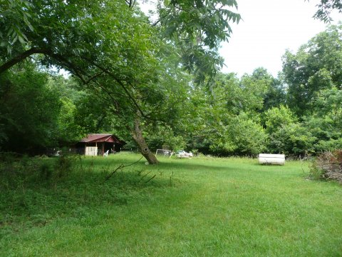 Mobile home for sale in Salley SC with expansive side yard