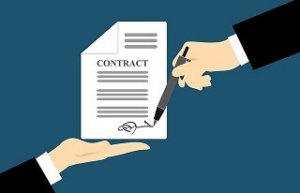A Legal Contract in Friendswood Texas